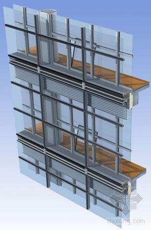 成都某科研办公楼幕墙施工组织设计