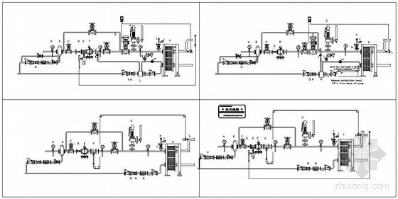 空调水系统图(双线)