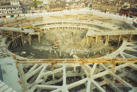 岩土工程地下深基坑支护设计