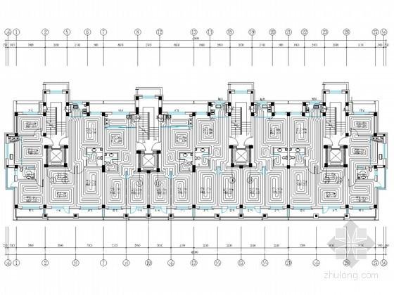 小区采暖系统施工图资料下载-[辽宁]高档小区中高层住宅楼采暖系统设计施工图
