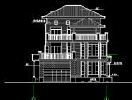 三层高档别墅施工图