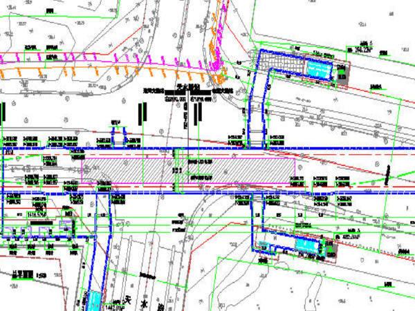 地铁隧道区间及车站施工图纸合集(共1824张)-一号车站平面布置图