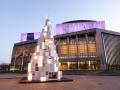 匈牙利灯箱制作的圣诞树