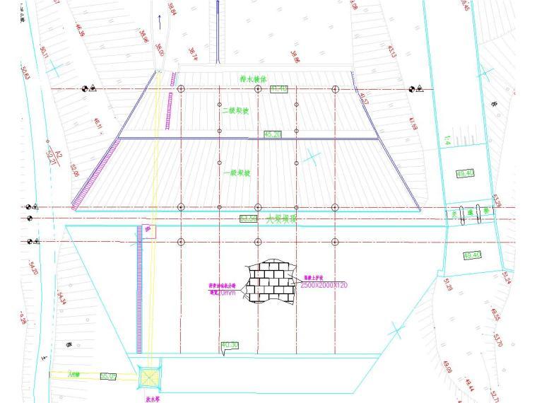 [广东]水库除险加固工程施工图(坝体加固,劈裂灌浆,新建管理房)