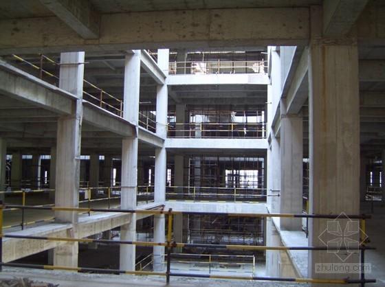 现浇混凝土柱工程量计算规则、柱高规定,附实例