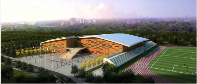 [BIM案例]同济大学嘉定校区体育中心BIM应用成果