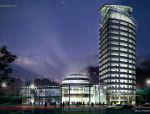 芦墟宾馆建筑设计方案及施工图