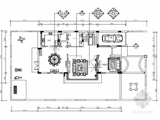 [东莞]健康主题独栋豪华欧式四层别墅装修施工图