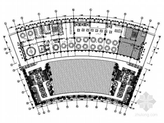 [河南]家电制造业连锁集团行政办公楼3层宴会厅及包间设计装修图(含方案手册照片)