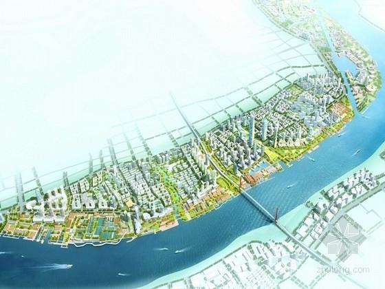 [上海]滨江核心城市总体规划设计方案文本(知名设计院设计)
