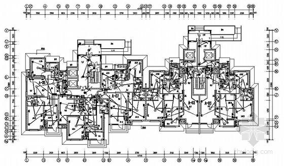 某二类高层住宅建筑电气图纸