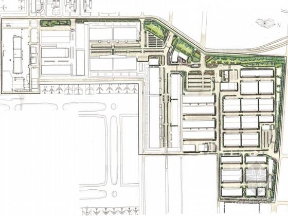 [北京]多功能商业综合体景观概念设计方案