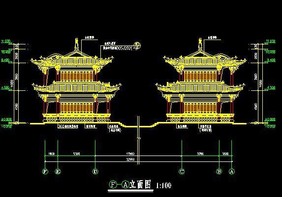 仿古廊桥建筑设计