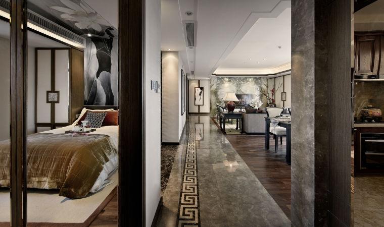 融林星海湾新中式样板房室内实景图 (3)