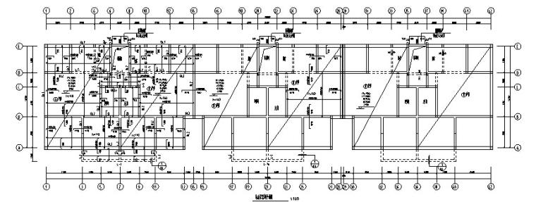 小区住宅楼土建及安装工程全套预算(含建筑结构图纸)_2