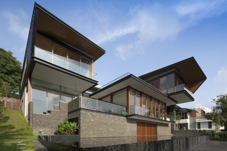 新加坡山顶别墅