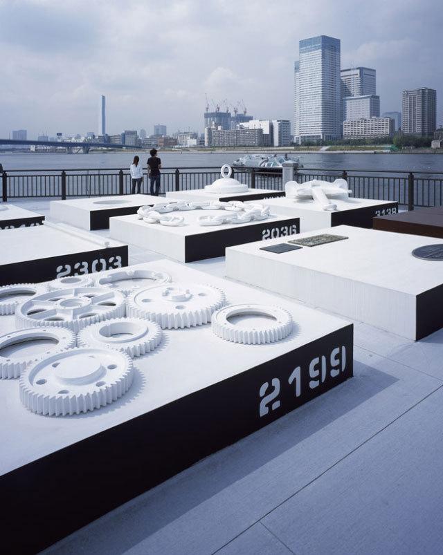 东京丰州LaLaport码头休闲区景观设计_10