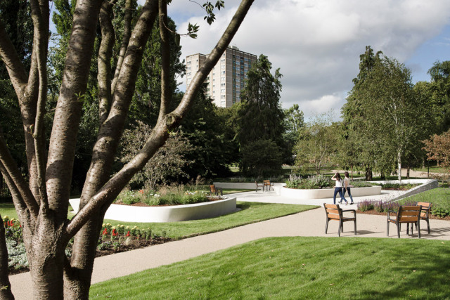 5-英国斯蒂夫尼奇镇中心花园kok第5张图片