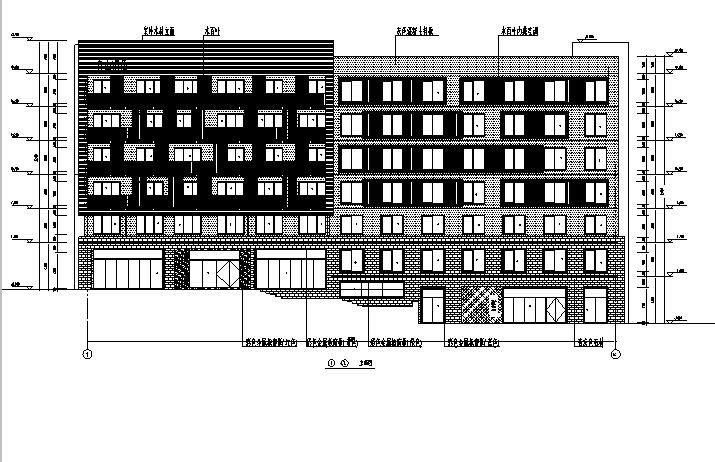 [吉林]多层框剪结构度假式宿舍楼施工图(含3栋楼全专业图纸)