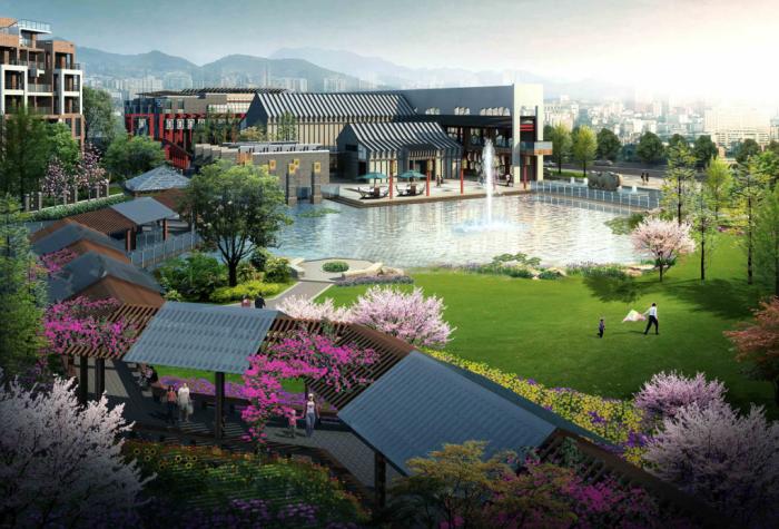 特色主题公园景观文本资料下载-[四川]奥运文化特色主题公园景观规划设计方案