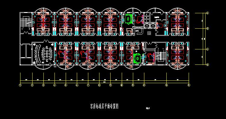 300多套CAD装修施工图纸(家装,工装,节点等)_9
