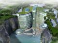 世茂深坑酒店钢结构主框架受力及设计研究