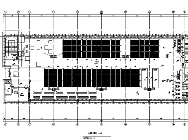 启东市市级机关后勤服务中心给排水系统施工图(CAD)