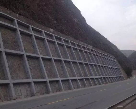 边坡锚固防护——锚杆框架和预应力锚索(锚杆)标准化施工图解!