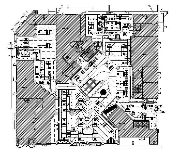 四川旗舰店室内暖通调整设计施工图
