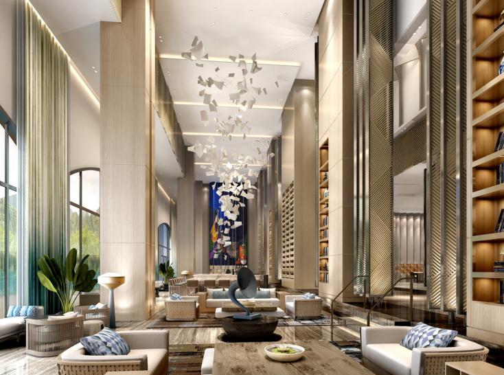 [柏涛建筑]上海崇明岛绿地艾美酒店丨概念方案47P+深化方案55P