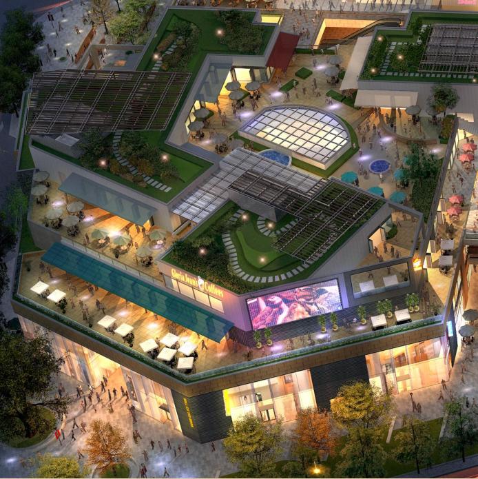 [上海]超现代风格多功能商业建筑设计方案文本(含CAD)_5