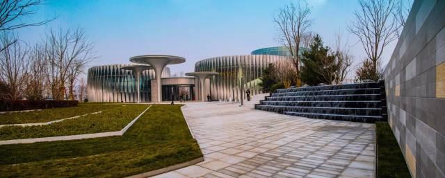 北京绿地健康城售楼处景观设计