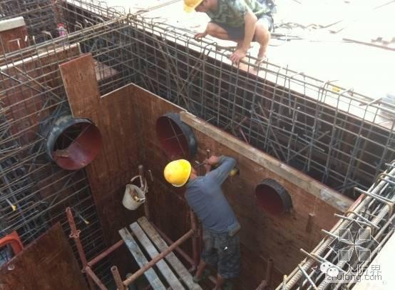 人防通风预留洞、预留套管施工方案