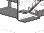 楼梯下面要怎样画,用墙吗