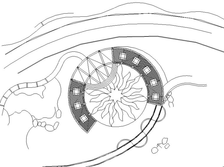 [广东]某海景花园景观施工图设计(包含CAD+29个)