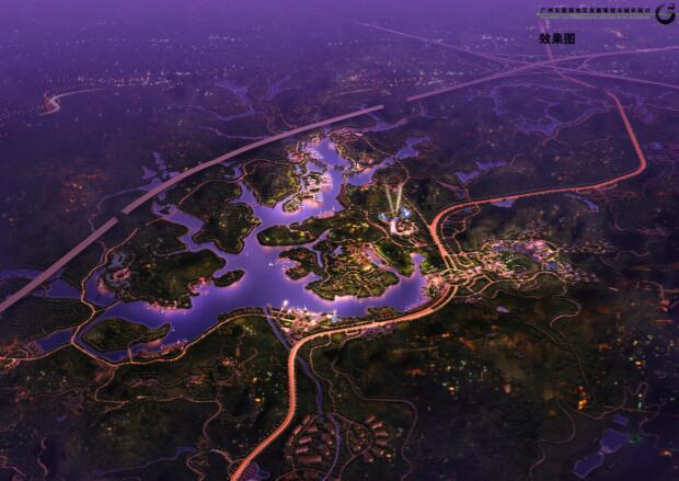 过账天鹿湖地区发展策划与城市设计项目-02效果图