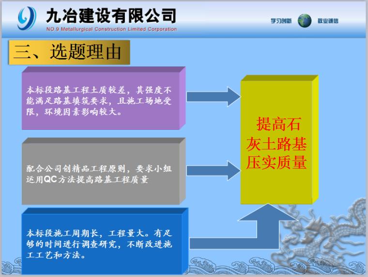 [QC成果]运用QC方法提高石灰土路基压实
