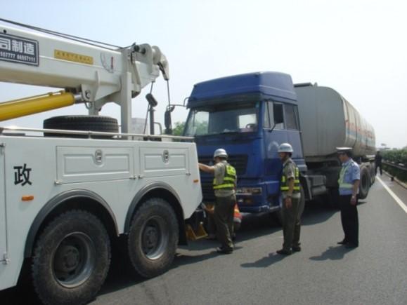 提高高速公路施工现场交通事故救援效率QC成果