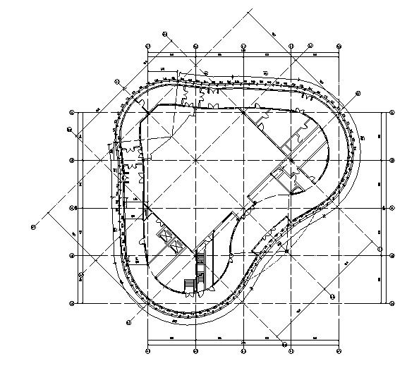 [北京]知名网络公司办公总部建筑施工图(修改图纸)_8