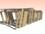 [景观小品]现代廊架设计模型.skp