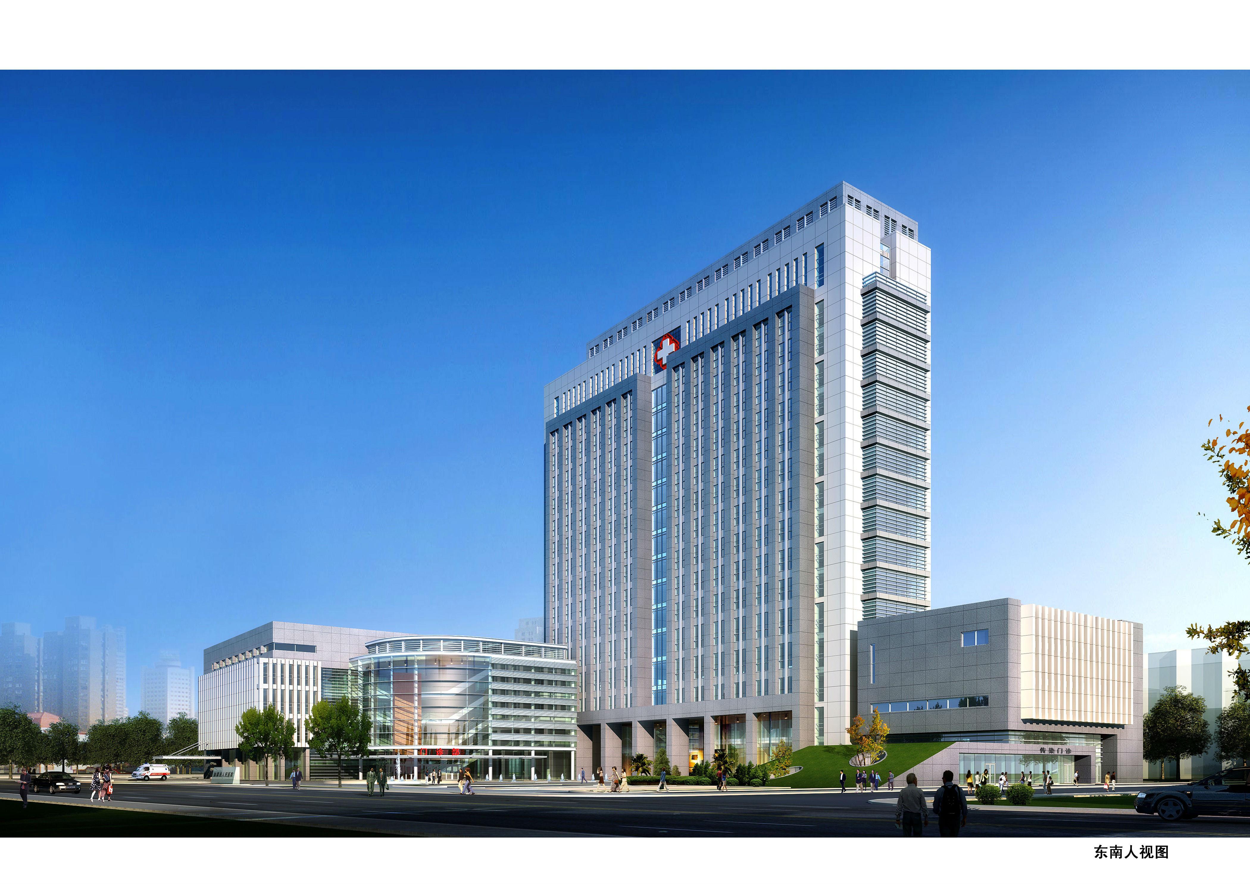 [施工图][江苏省]南通市某人民医院方案设计[含cad]