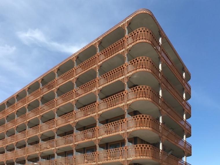 荷兰预制混凝土模块式的住宅-荷兰预制混凝土模块的住宅外部实景图 (6)