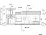 欧式独栋二层滨水咖啡厅商业建筑设计施工图CAD