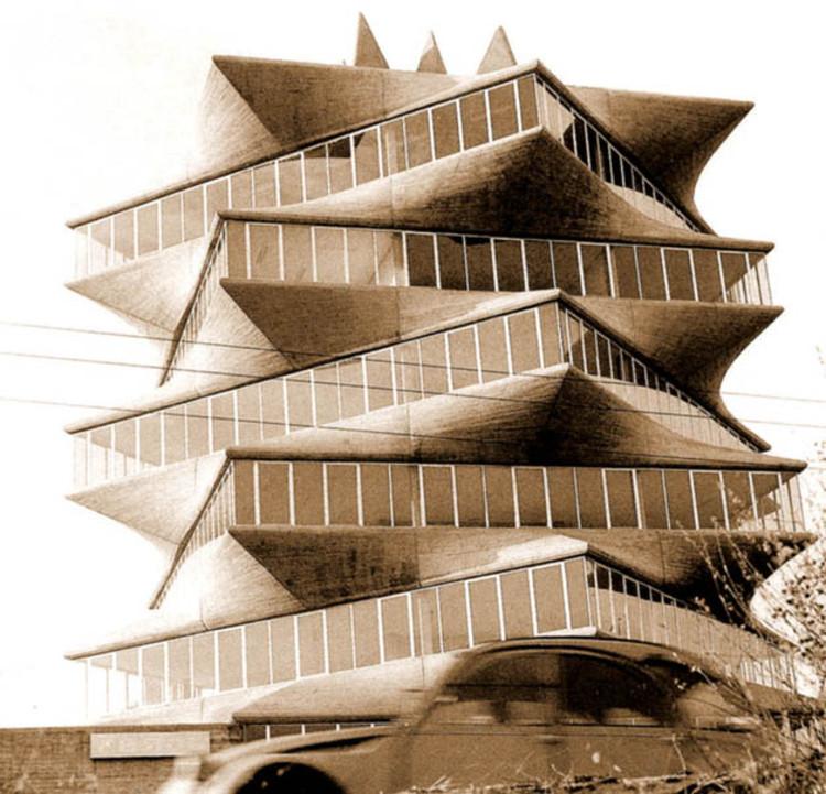 经典建筑:霍尔瓦实验大楼宝塔_4