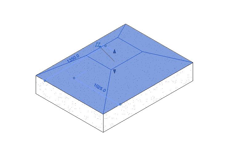 独立基础-坡形截面