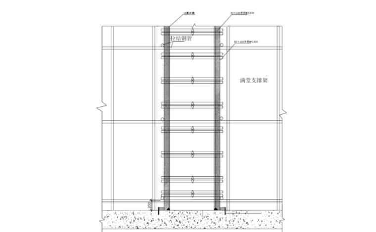 梦世界电影文化综合体钢筋施工安全技术交底高支模专项施工方案
