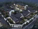 [上海]涵璧湾中式豪宅合院独栋别墅建筑设计方案文本(一)