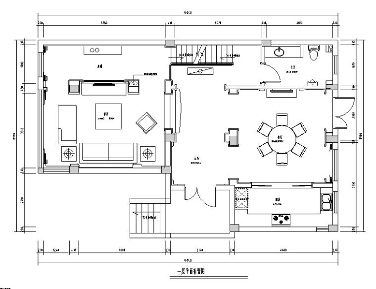[江苏]简欧联排三层别墅设计施工图(附效果图)