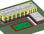 BIM模型-revit模型-学校模型