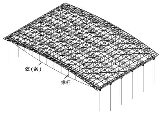 广州国际会展中心大跨度张弦梁的设计探讨